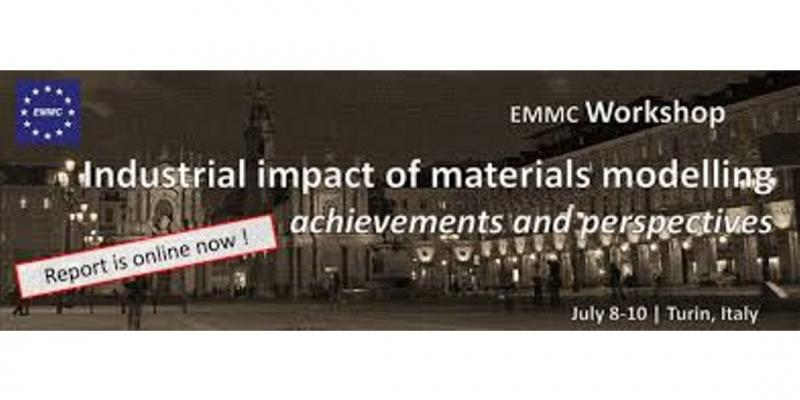 MaX on EMMC-CSA Workshop: Industrial impact of materials modelling – achievements and perspectives